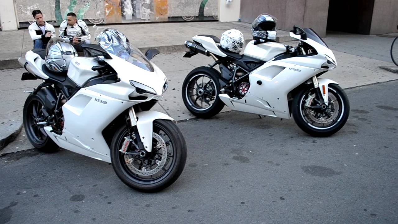 Ducati 1198 Panigale White Custom White Ducati 1198 on