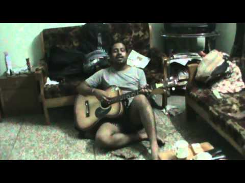 how to sing  teri deed ko ankhiyan tarse on guitar (by sudhanshu...