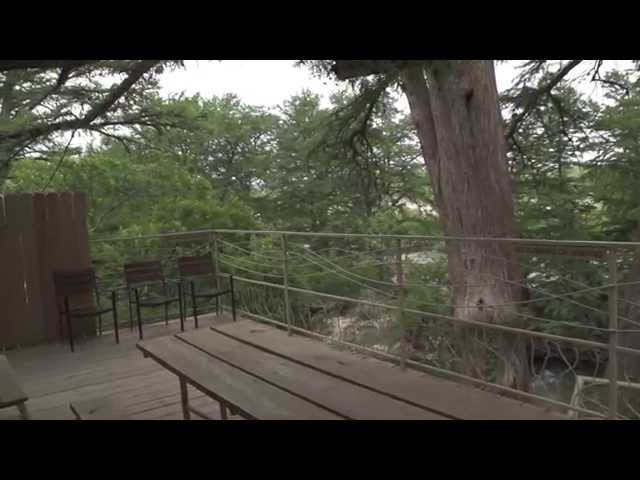 The Twin Cypress Lodge at  Frio River Cabins & Texas Staycation Resort