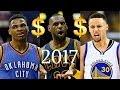 Lagu Top 10 Highest Paid NBA Players 17-18 Season!
