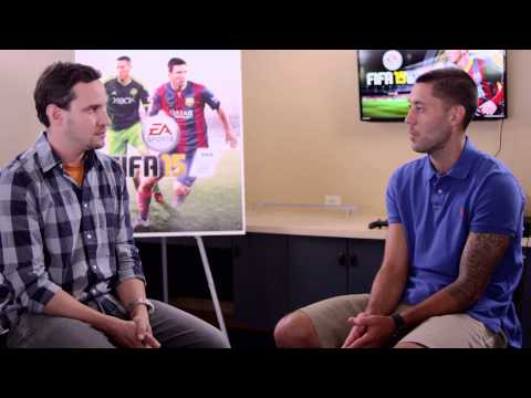 FIFA 15 Fan Fest - Clint Dempsey Interview