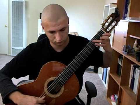 Carulli, Ferdinando - Study (Etude) in A minor