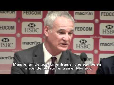 Présentation officielle de Claudio Ranieri