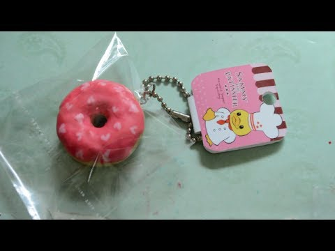 Sammy Squishy Donut : Sammy Squishy Replica Series: Donut Tutorial (2 of 5) - YouTube