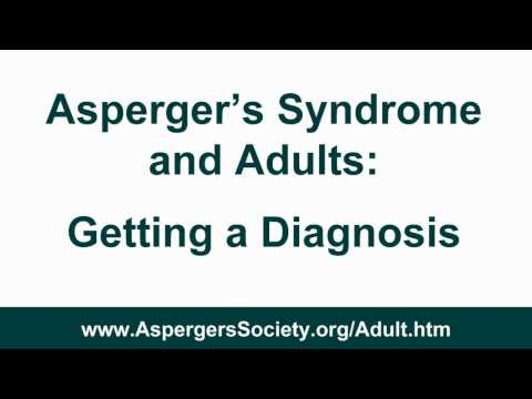 Asperger's Syndrome Diagnosis in Adults