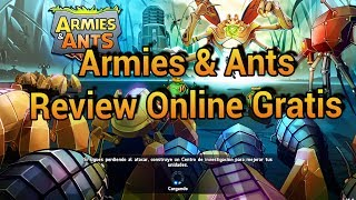 Armies & Ants Review juego online muy bueno