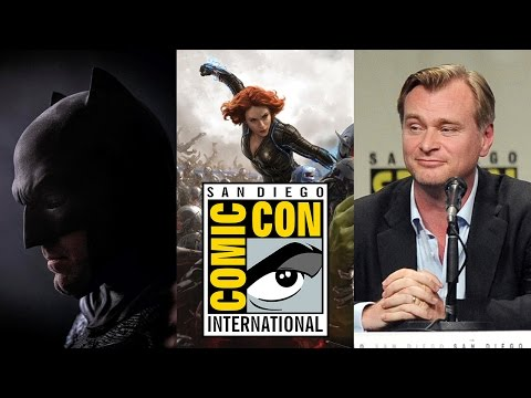 Comic Con 2014 Day 1 Recap: Batman, Avengers & Nolan!