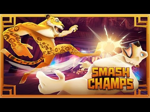 CARTOON GAMES FOR KIDS: Dino Fight 3D + Smash Champs  Newbie Gaming