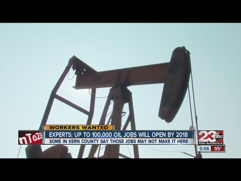 Experts say oil jobs should rise by 2018