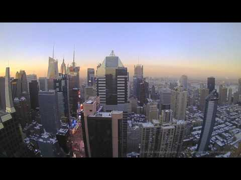 New York City Time Lapse - Snow Storm February 2014
