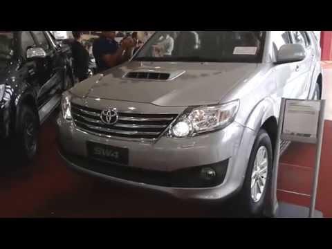 Conhecendo a linha 2015 da Toyota Hilux e SW4