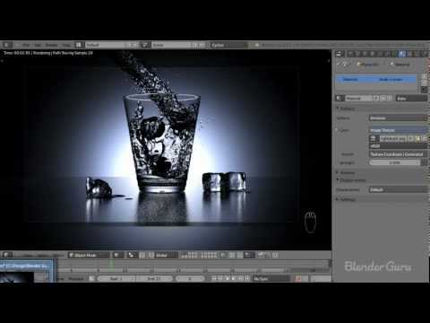 Create a Realistic Water Simulation in Blender