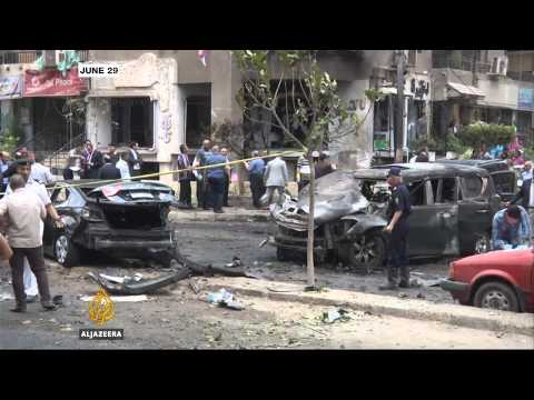 Bomb blast targets Italian consulate in Cairo