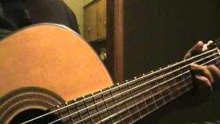 """While Your Lips Are Still Red"" written by Nightwish...(Guitar Cover By Mark)..."