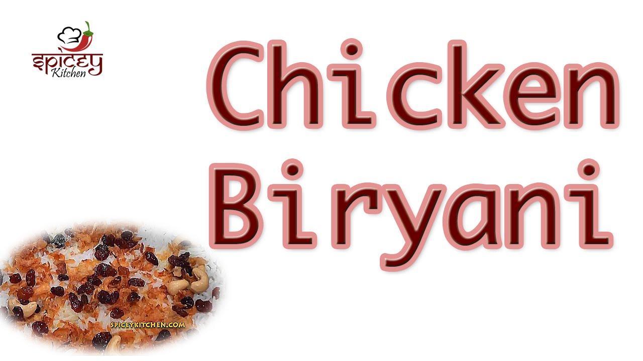 Chicken biryani kerala muslim style - photo#5