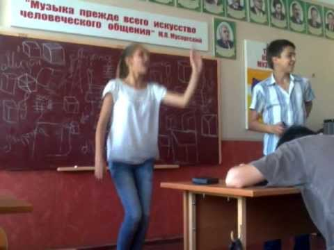Пьяная ученица 4(8)-Б класса