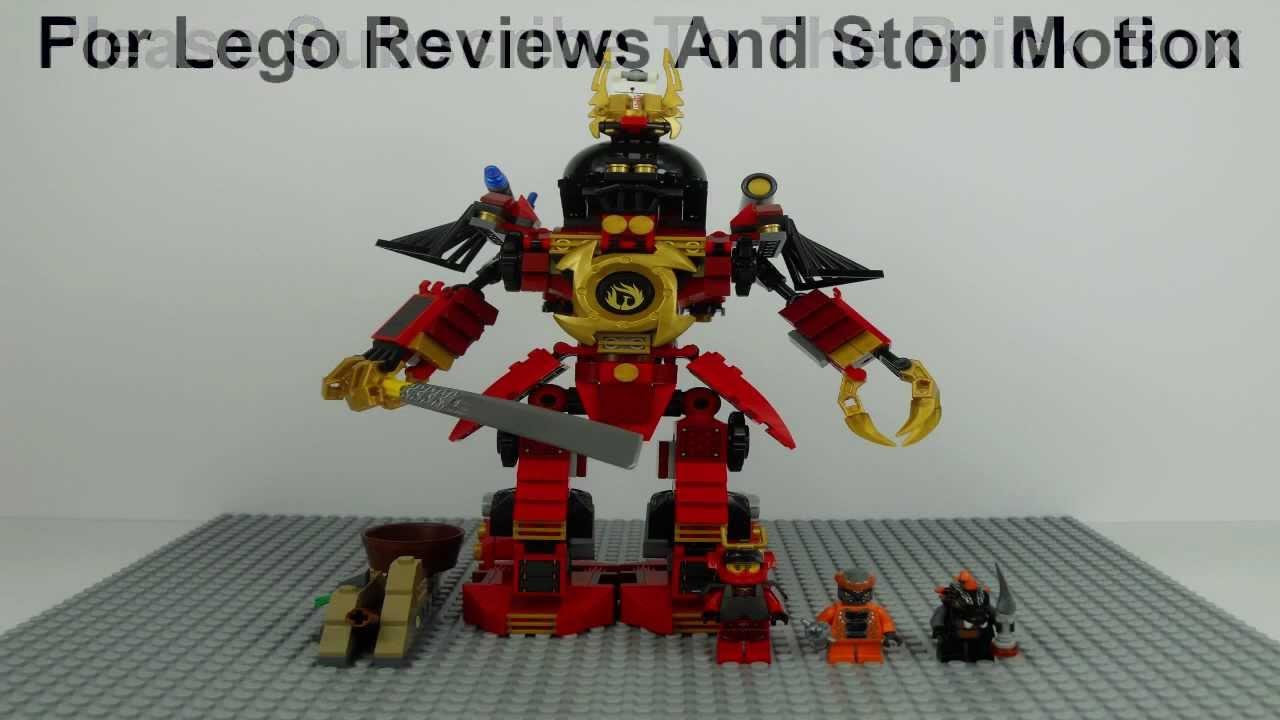 Lego Mech Suit Ninjago Lego Ninjago 9448 Samurai Mech