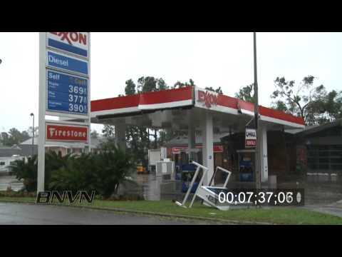 Hurricane Gustav Video, 2008 Part 6 - Houma, LA