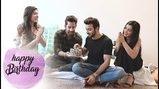 Samridh Bawa celebrates Birthday with Glitz Vision & Swabhimaan Co-Stars