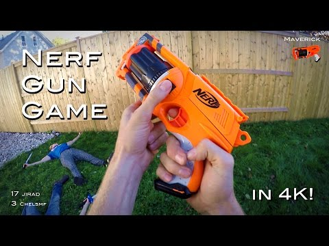 Nerf meets Call of Duty: Gun Game | First Person in 4K!