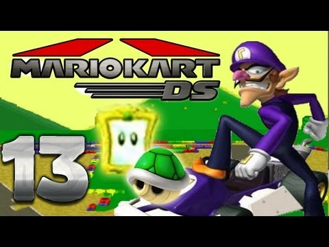 Let's Play Mario Kart DS Part 13: Panzer Cup Spiegel Modus