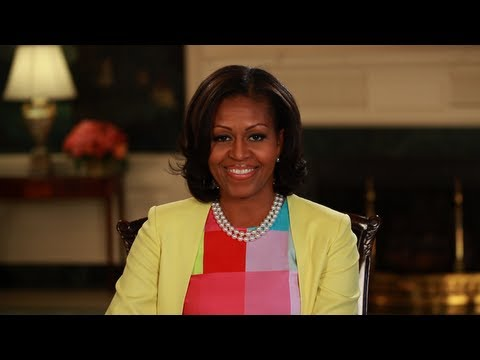 The First Lady says: you Gotta Vote