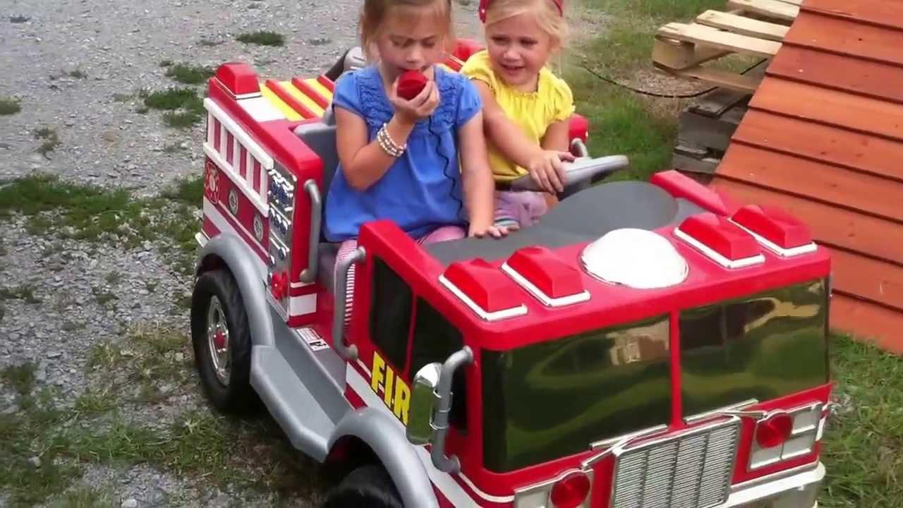 Power Wheels Trucks Power Wheels Firetruck Mayhem
