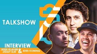 JESSE KLAVER, KEES DE KONING & JIGGY DJE - EEN SUPERGAANDE TALKSHOW AFL. 18