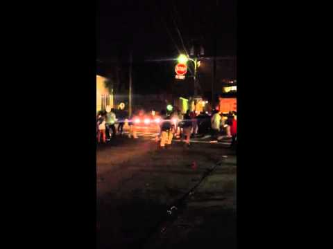 Downtown charleston fight