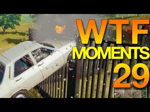 PUBG WTF Funny Moments Highlights Ep 29 (playerunknown's battlegrounds Plays)