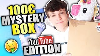 100€ MYSTERY BOX OPENING 💸 (YouTuber Edition)