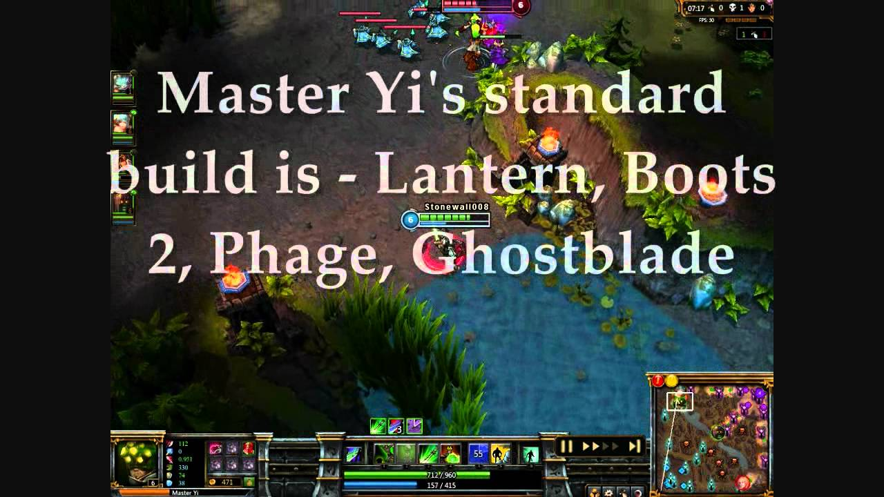 how to play jungle master yi