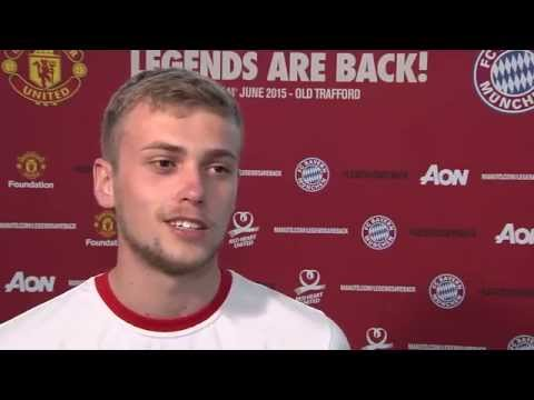 Phil Jones, James Wilson and Adnan Januzaj discuss their favourite legends