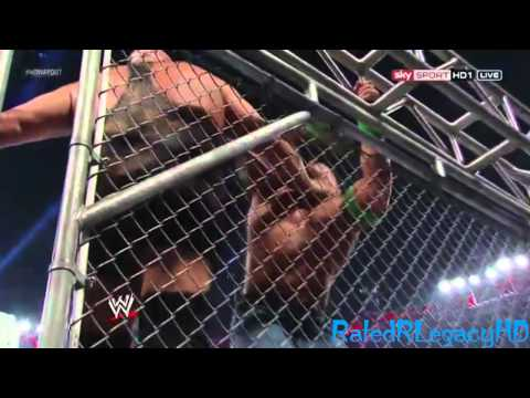 John Cena vs. Big Show Steel Cage Match Highlights HD - WWE No Way Out 2012