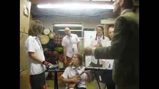 Thomas Edison's Electric Light Bulb Band Video - Grange Hill theme tune - care of Mr. Rivers and his school band!