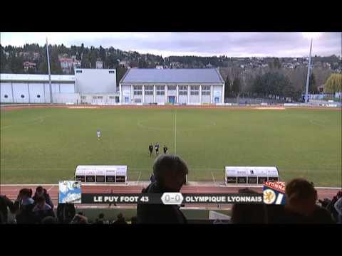Journée 21 - Championnat U19 National - Le Puy Foot 43 / Olympique Lyonnais - 22/03/2014.