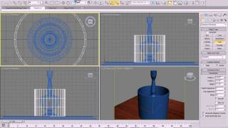 3DS Max Tutorial - Model and illuminate a table lamp with Vray in 3DS Max