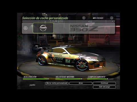 instalar vinilos personalizados en need for speed underground 2 tutorial
