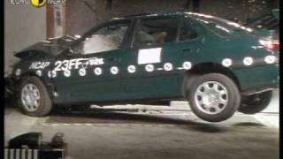 Euro NCAP | Peugeot 406 | 1997 | Crash test