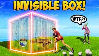 BIGGEST NOOB vs. INVISIBLE BOX! - Fortnite Funny Fails and WTF Moments! #278 (Daily Moments)