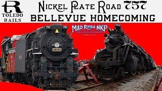 Nickel Plate Road 757's Bellevue Homecoming
