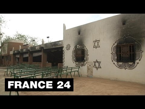 Niger: 6 months after the anti-Charlie Hebdo riot, Zinder's cultural centre still in ruins