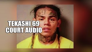 10 Minute Audio Released of Tekashi 6ix9ine Testifying in Court, Day 1 (Part 1)