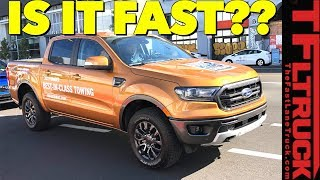 We Accidentally Drive the New 2019 Ford Ranger: Does it Compete With Toyota and Chevy?