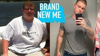 I Avoided Mirrors.. Until I Lost 160lbs   BRAND NEW ME