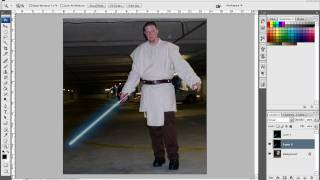 Photoshop Tutorial: The Force Unleashed Unstable Lightsaber