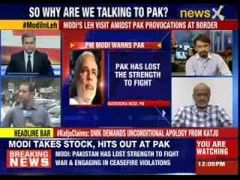 Narendra Modi: Pakistan has lost strength to fight war