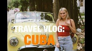 TRAVEL VLOG: CUBA !!