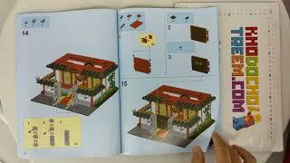 Hướng dẫn lắp ráp XingBao XB-01004 Lego Creator MOC Martial Art School giá sốc rẻ nhất