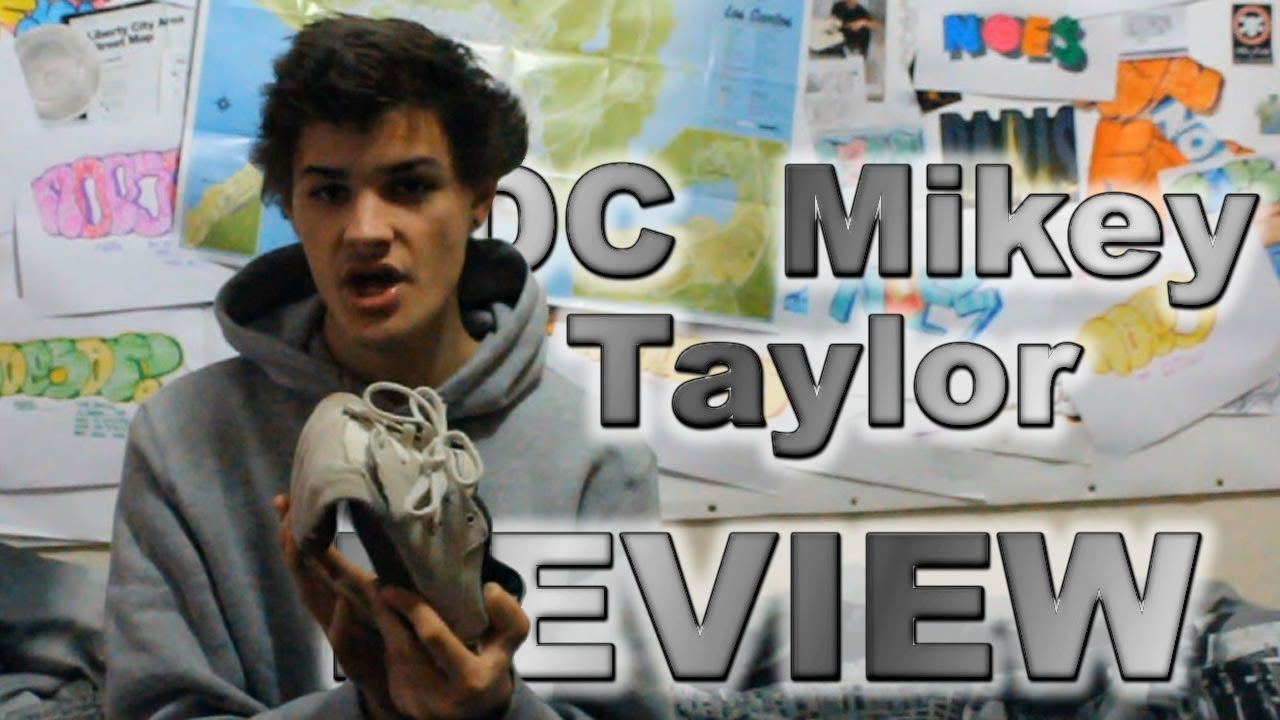 Mikey Taylor Shoe dc Mikey Taylor Shoes Review